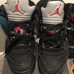 Air Jordan Retro 5 Metallic